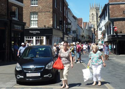 York Footstreets: Access for Blue Badge Parkers